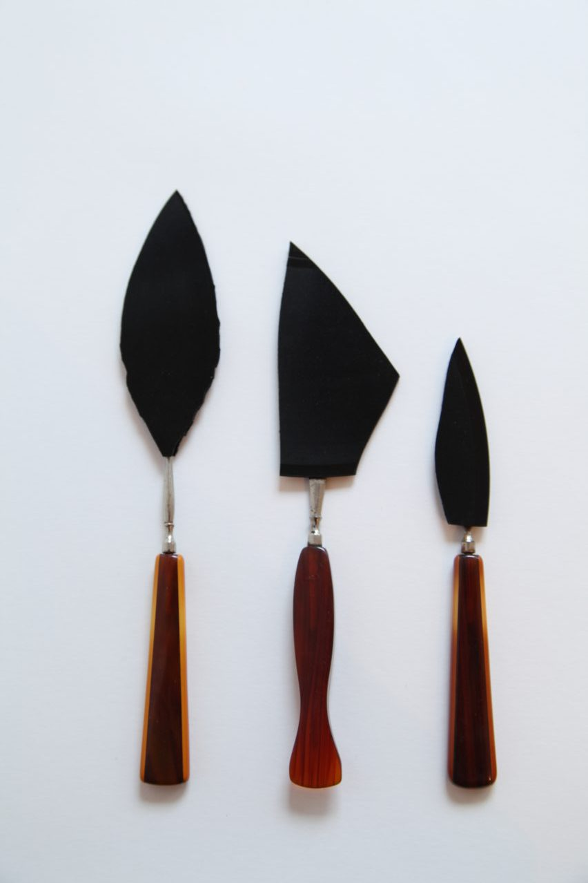 KNIVES Vinyl blades and tortoiseshell 2013