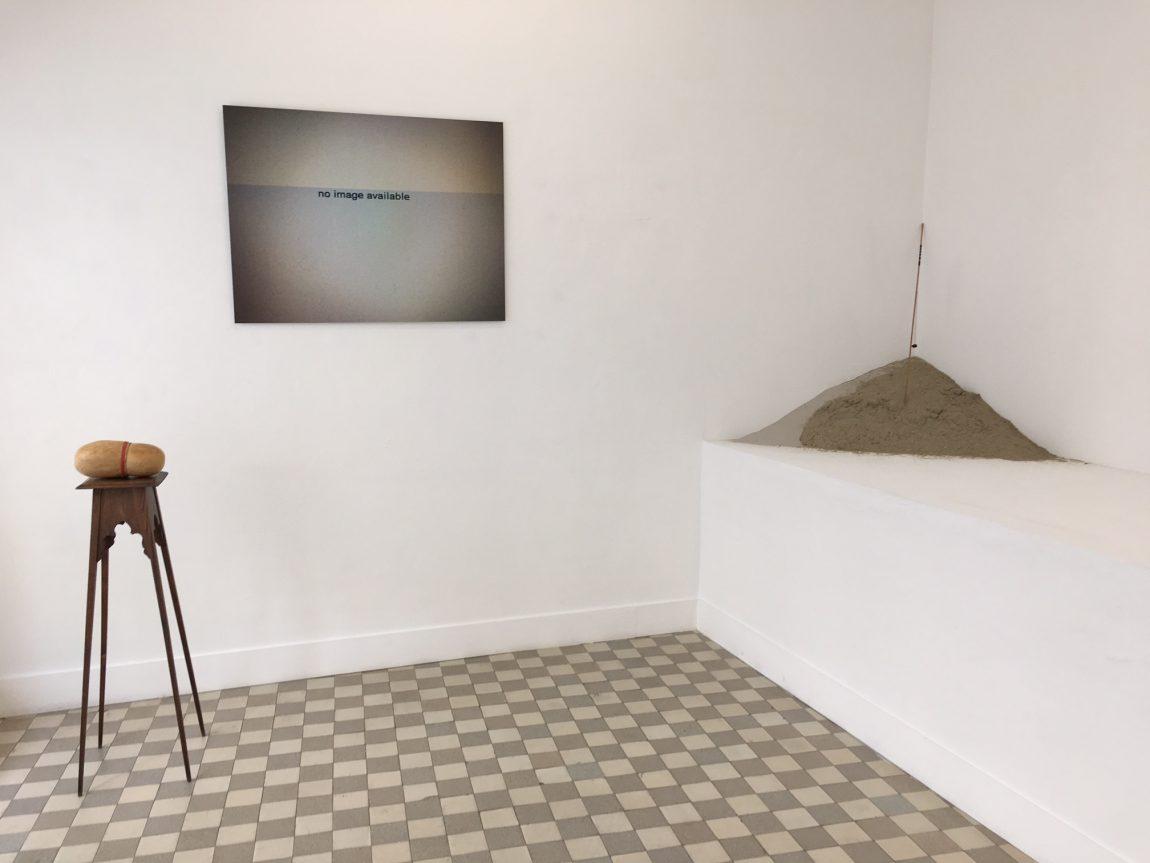 View of the exhibition at La Part du Feu, Brussels, Belgium, 2018